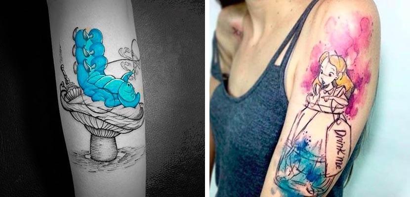 Tatuajes coloridos