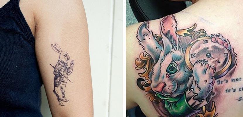 Tatuajes de conejo