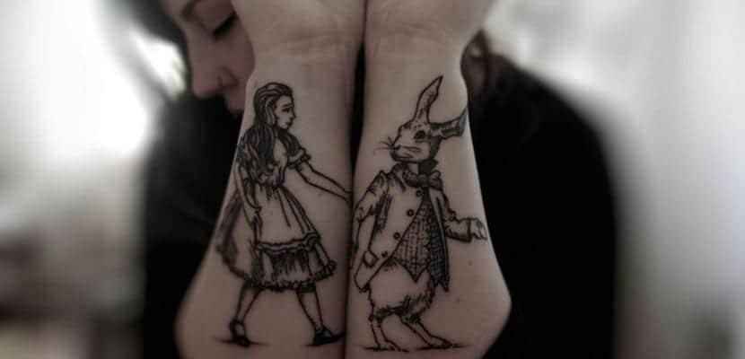 Tatuajes de Alicia