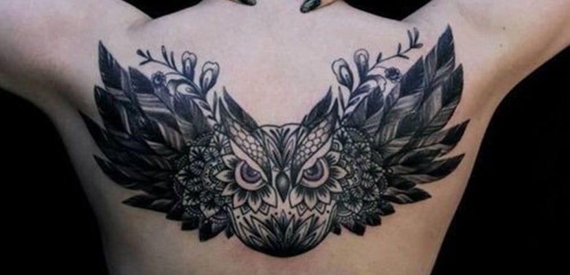 Tatuajes de búhos
