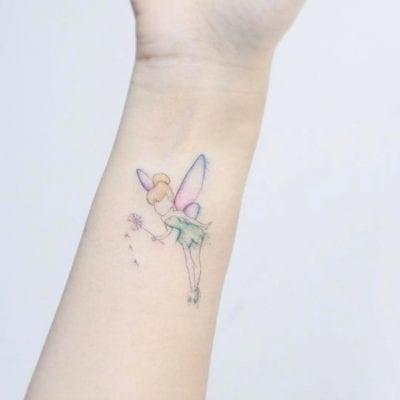Tatuajes de cuento Campanilla