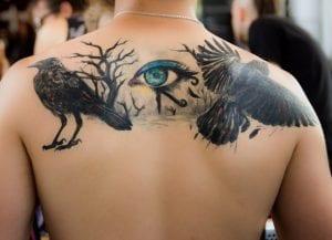 Tatuajes de cuervo