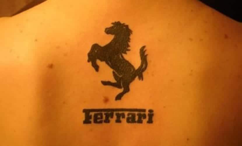 Tatuajes de marcas de coches