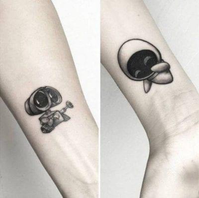 Tatuajes de películas Wall E