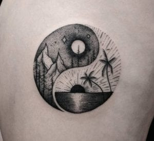 Tatuajes de Yin y Yang