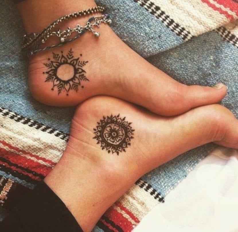 Tatuajes en los talones