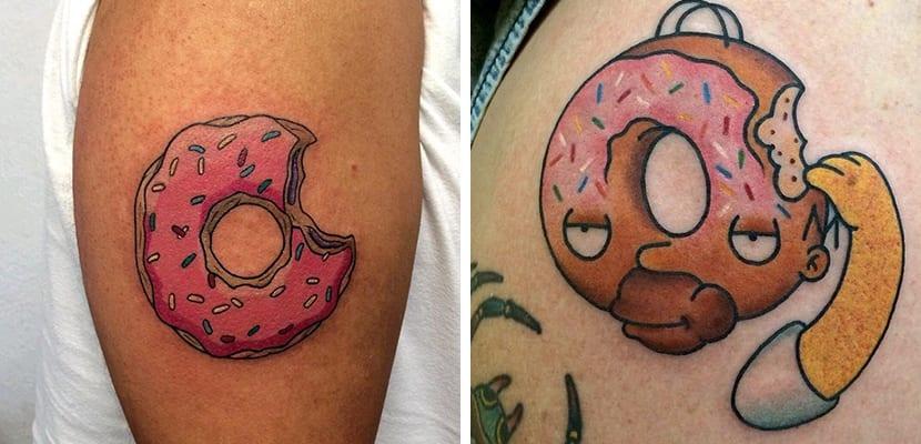 Tatuajes de donuts