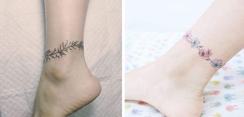Tatuajes tipo pulsera