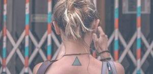 Tatuaje de triángulo