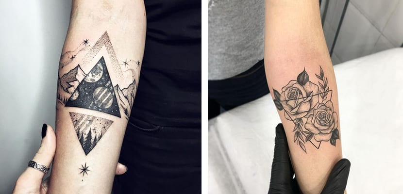 Tatuajes con triángulos
