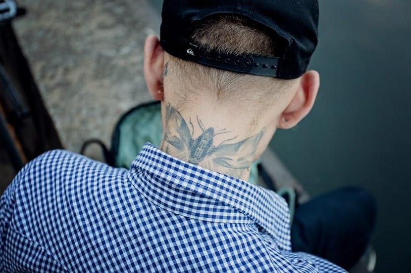Ideas de tatuajes en el cuello