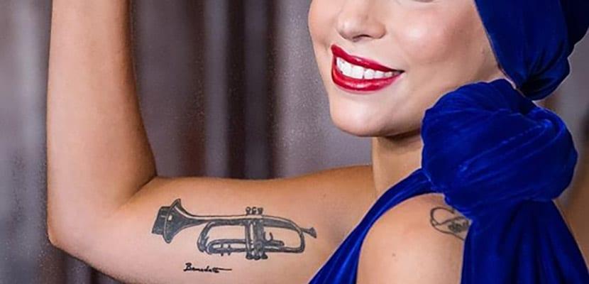 Tatuaje de trompeta
