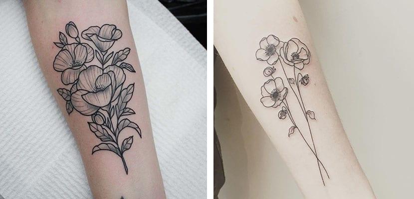 Tatuajes de siluetas