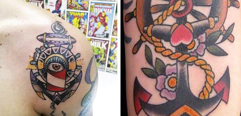 Tatuajes de anclas