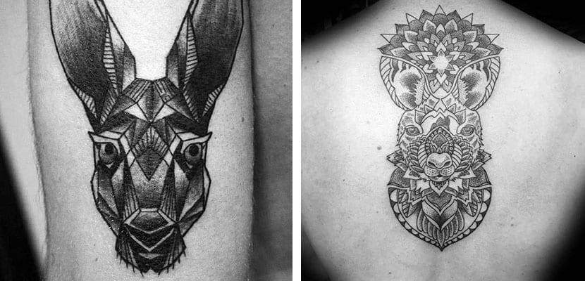 Tatuajes de canguro