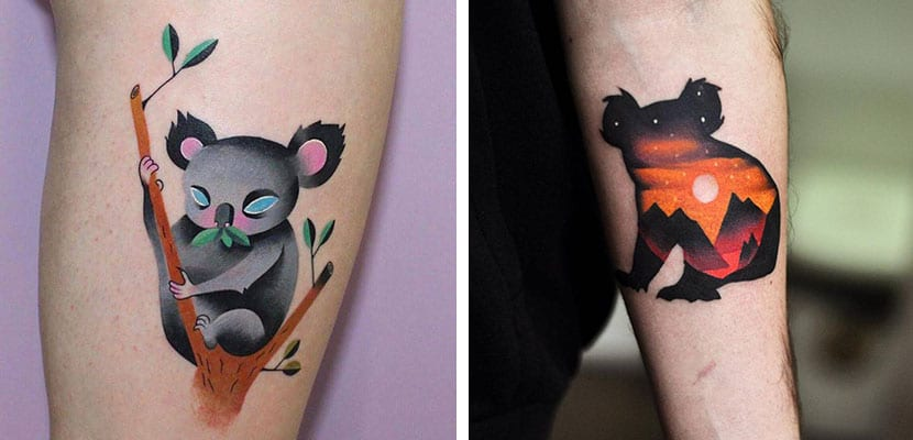 Tatuajes de koalas