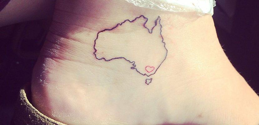 Tatuaje de Australia