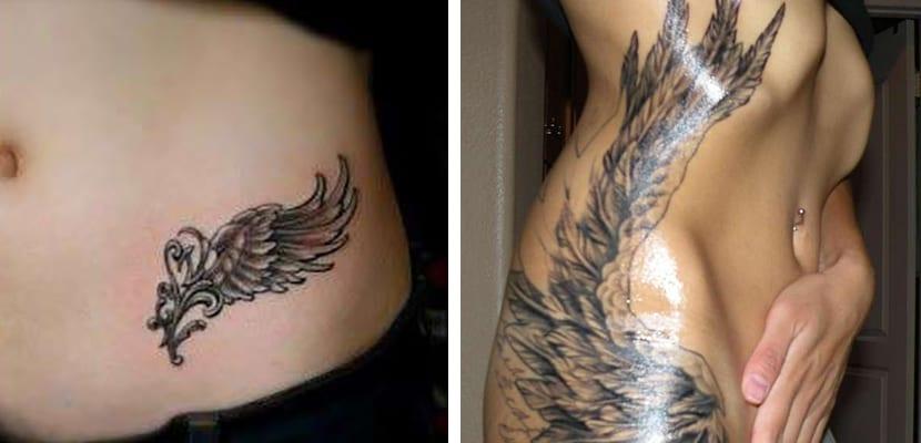 Tatuajes de alas