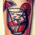 Tatuajes de cócteles