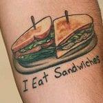 Tatuajes de emparedados