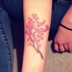 Tatuajes de ramas de cerezo