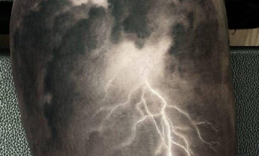 Tatuajes de tormentas