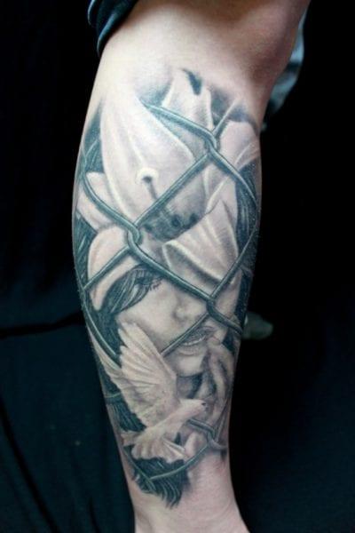 Tatuajes en el Gemelo pierna