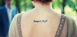 Tatuaje Tempus fugit