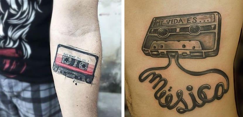 Tatuaje de cassette