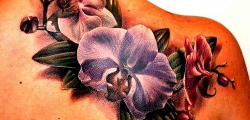 Tatuajes de orquídeas