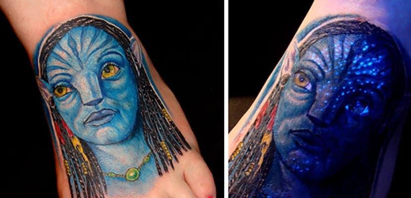 Tatuaje de avatar
