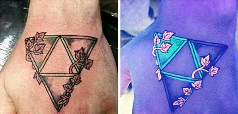 Tatuajes que brillan