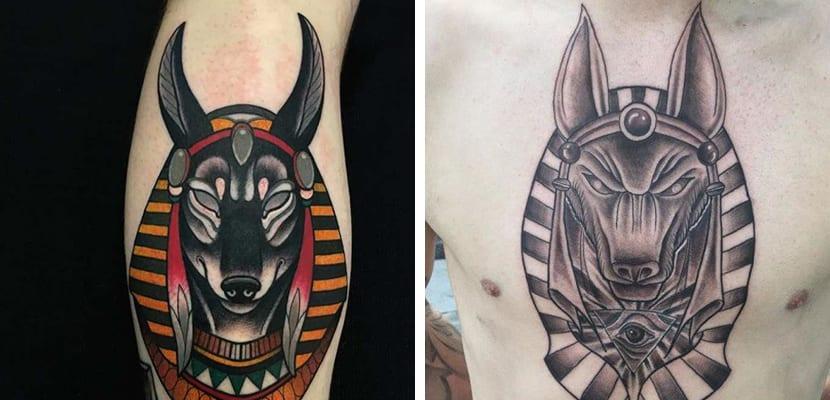 Tatuaje de Anubis