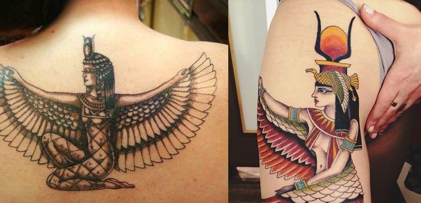 Tatuaje de Isis