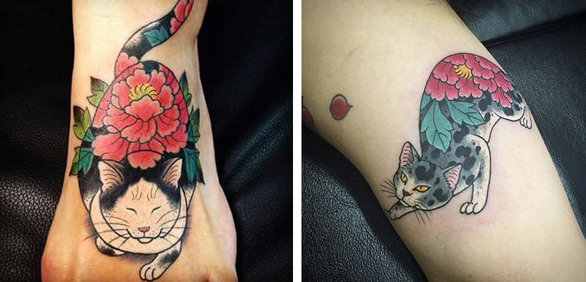 Tatuaje de gatos