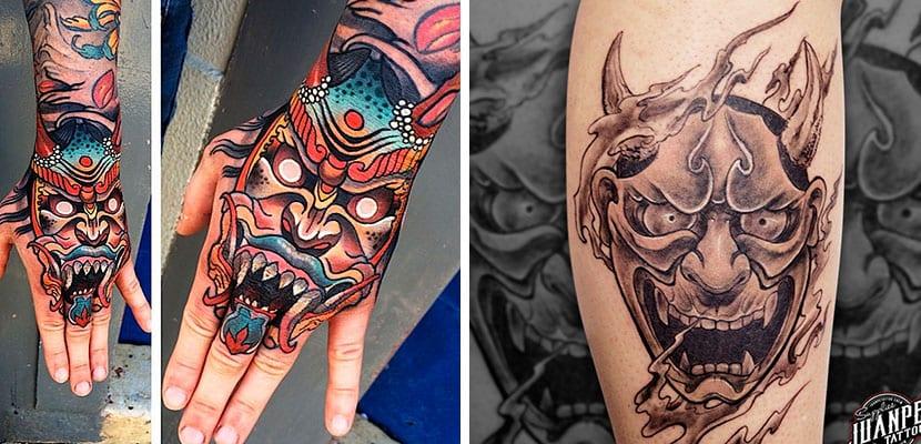 Tatuajes de máscaras