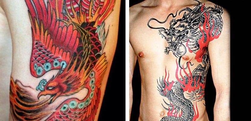 Tatuajes de seres mitológicos