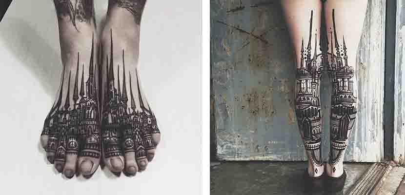 Tatuaje arquitectónico