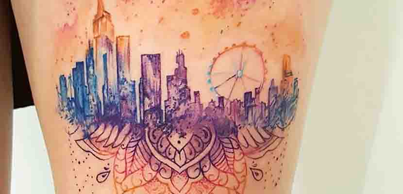 Tatuaje en color