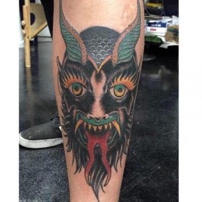 Tatuajes del diablo cara