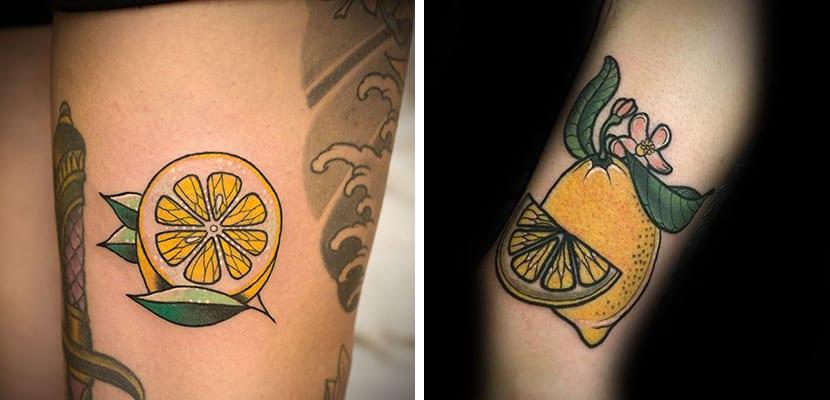 Tatuajes de limones