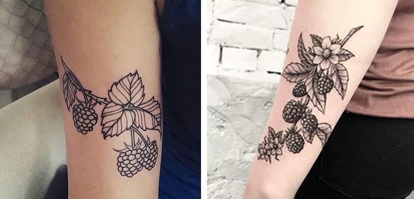 Tatuajes de moras