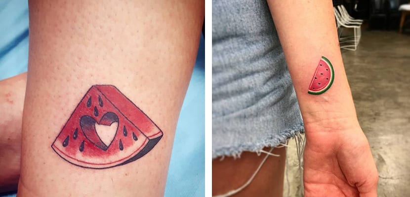 Tatuajes de sandías