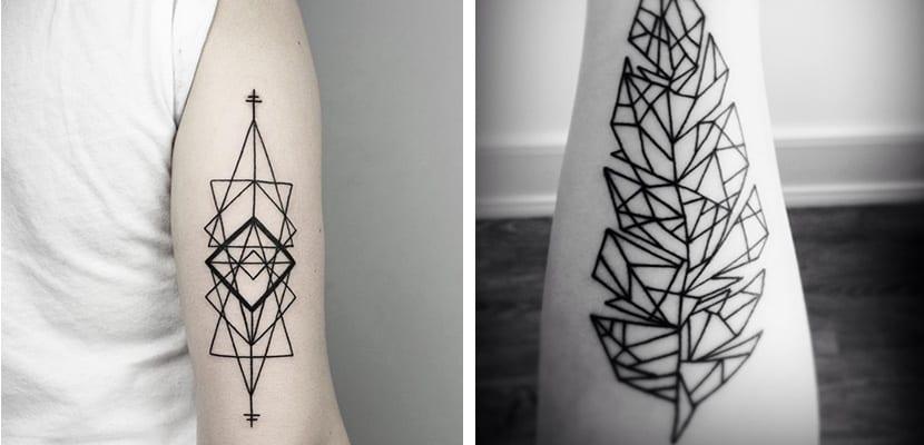 Tatuajes goemétricos