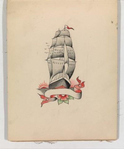 Tatuajes navales barco