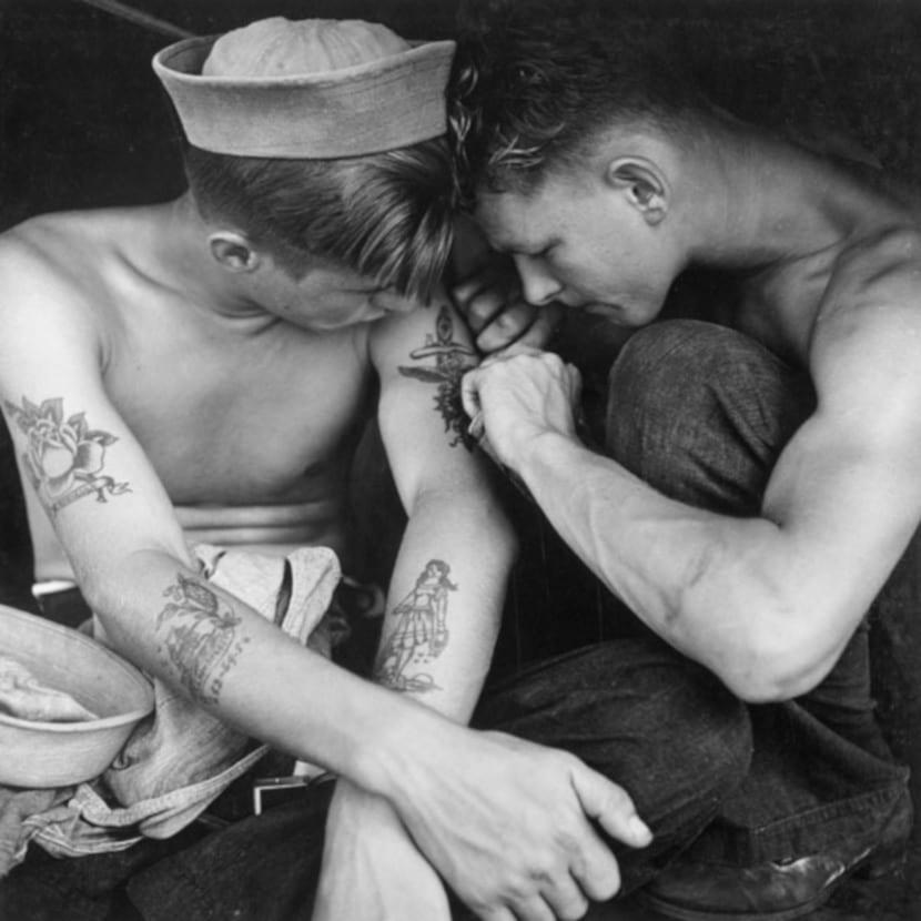 Tatuajes navales