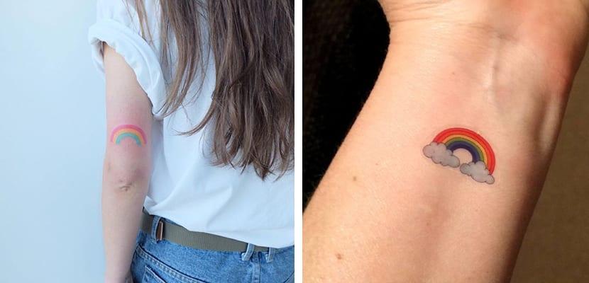 Tatuajes de arcoíris