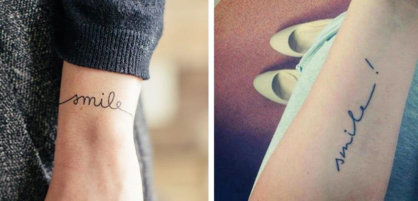 Tatuajes smile