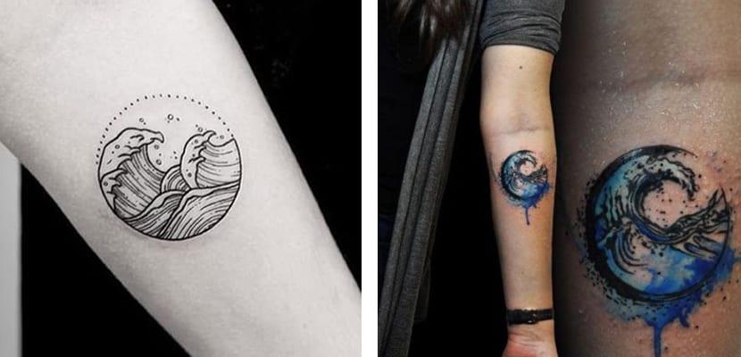 Tatuajes de olas