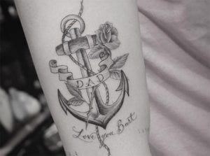 Tatuaje de Brooklyn Beckham